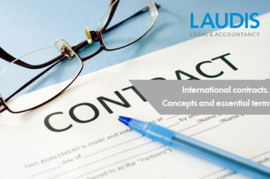 International contracts. Concepts and essential terms